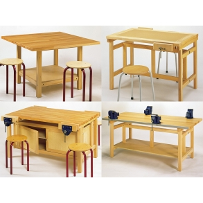 Flush top workbench